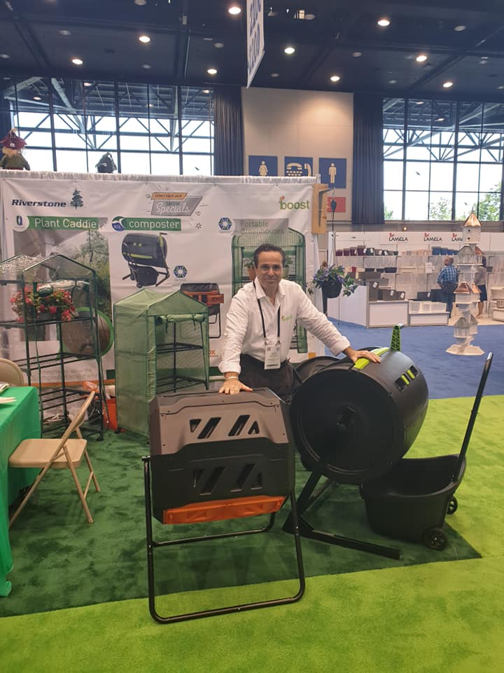 Garden Products (Composters) - Garden Show (Double click for better view)